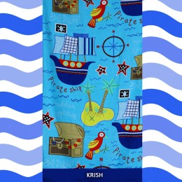 Pirates Ahoy Printed towel