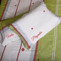 Polkas n Flowers - Bed sheet Set