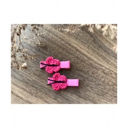 Quick Butterfly Aliigator Clips - Fresh Pink