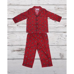 Red Dinosaur Nightsuit