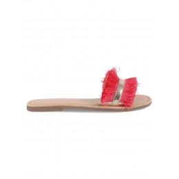 Reef Red Solid Flipflops
