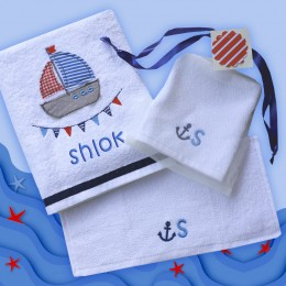 Sailing Away - 3 pc Bath Set