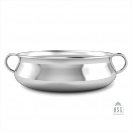 Sterling Silver Bowl for Baby and Child - Tradional Feeding Porringer