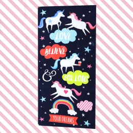Unicorn Dreams Printed Towel