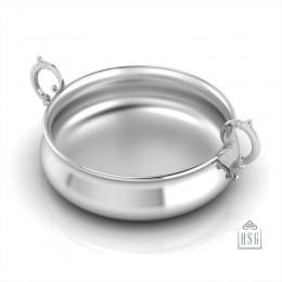 Sterling Silver Bowl for Baby and Child - Victorian Feeding Porringer