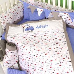 Vroom we go - 5 pc Bedding Set