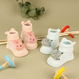 Foxy Bunny 3D Socks- 2 Pack