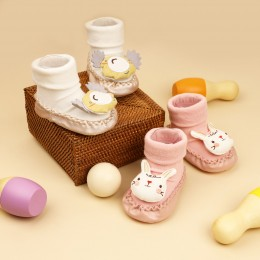 Friendly Faces Baby Booties- 2 Pack