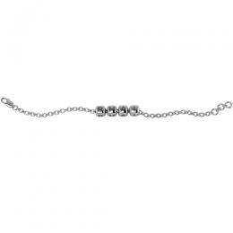 Sterling Silver Baby Kubes BHAI Dice Bracelet - Oxidised