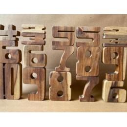 Blockmatics Teak Wood