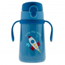 Double Wall SS Bottle with Handle Space