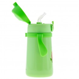 Double Wall SS Bottle with Handle Zoo