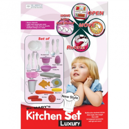 Dr Mady's Kitchen Set for Pretend Play