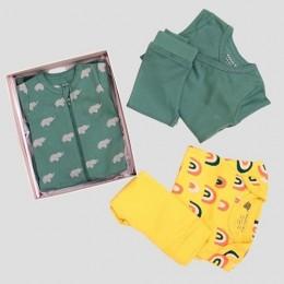 Essential Baby Bundle Box - Elephant and Rainbow