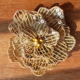 Flowering Sequin Hairclip