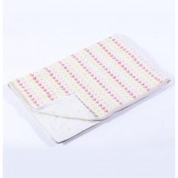 Geometry Pink Toddler Blanket