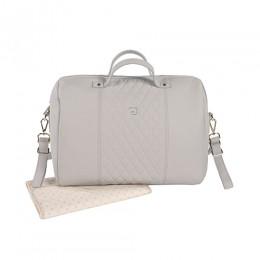 Maria Grey Diaper Changing Bag