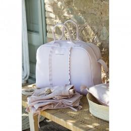Nido Flounce Pink Diaper Changing Bag