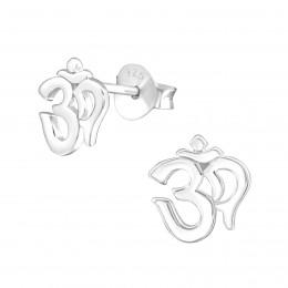 Om Earrings