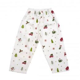 Organic Christmas Snuggle Kids Pajama Set