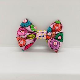 Pretty Pink Bow Hairclip