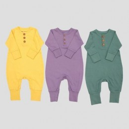 Set of 3 Centre Romper - Honey, Sage and Orchid