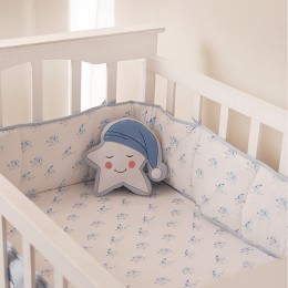 Star Decorative Pillow Blue