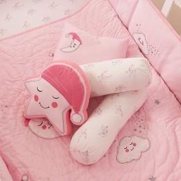 Star Decorative Pillow Pink