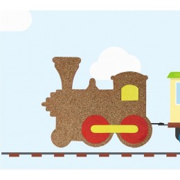 Toy Train Pinboard