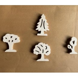 Tree Shape Wooden Block Collection