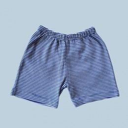 Cute Blue Stripes Shorts
