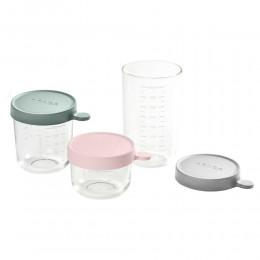 Set of 3 Superior Glass Conservation Jar - (150ml / 250ml / 400ml)