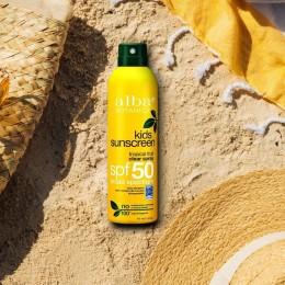 Alba Botanica Active Kids Clear Sunscreen Spray - SPF 50 - 175ml