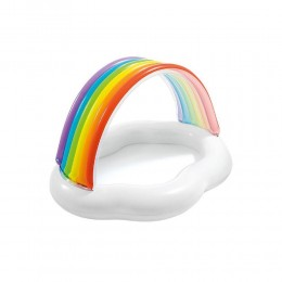 Canopy Rainbow Cloud Baby Pool