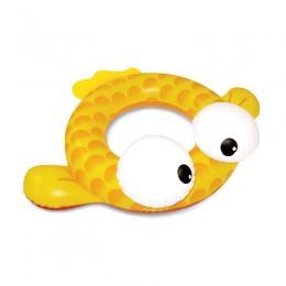 Finley Fish Tube - Yellow