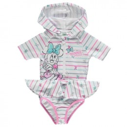 Minnie Mouse Hooded Swimsuit