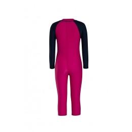 Speedo Color Block LS All-in-1 Suit