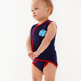 Splash About Baby Wrap™ Navy Red