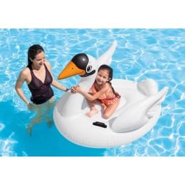 Swan Ride-On Pool Float