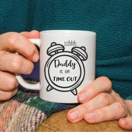 Dads on timeout mug