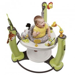 Evenflo Exersaucer jump and learn Jumper Jungle Quest Multicolor
