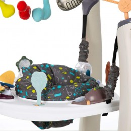 Exersaucer Jump and Learn Jumper Jam Session With Base Cream