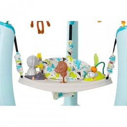 ExerSaucer Jump & Learn Jungle Quest Jumper 4m Blue and White