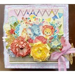 Flower Splash - Handmade Baby Books