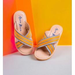 Gray Lobster Sandals