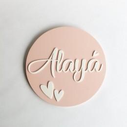 Name Sign Heart Theme