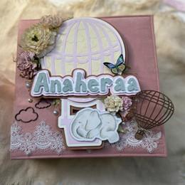 Hot Air Balloon - Handmade Baby Books
