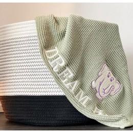 Olive - Baby Blanket