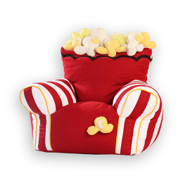 Popcorn -Bean Chair Cover (Large)