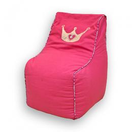 Princess Crown -Bean Chair Cover